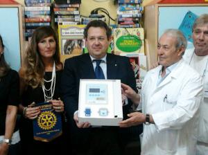 Cerimonia Donazione ABIO Rotary a Pediatria 2
