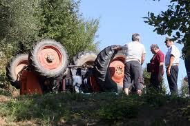 incidente trattore