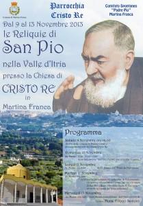 Manifesto Padre Pio piccolo