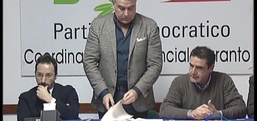 Conferenza PD decreto Salva Taranto