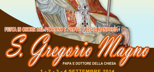 Manifesto San Gregorio Magno 2014