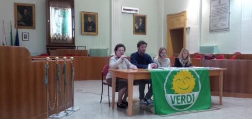 Conferenza stampa Verdi - Depuratore Consortile Manduria-Sava 1
