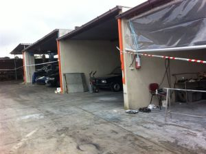 sequestro officina