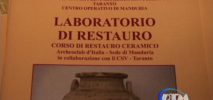 Manuale Laboratorio Restauro Manduria