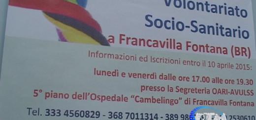 Corso base volontariato Francavilla