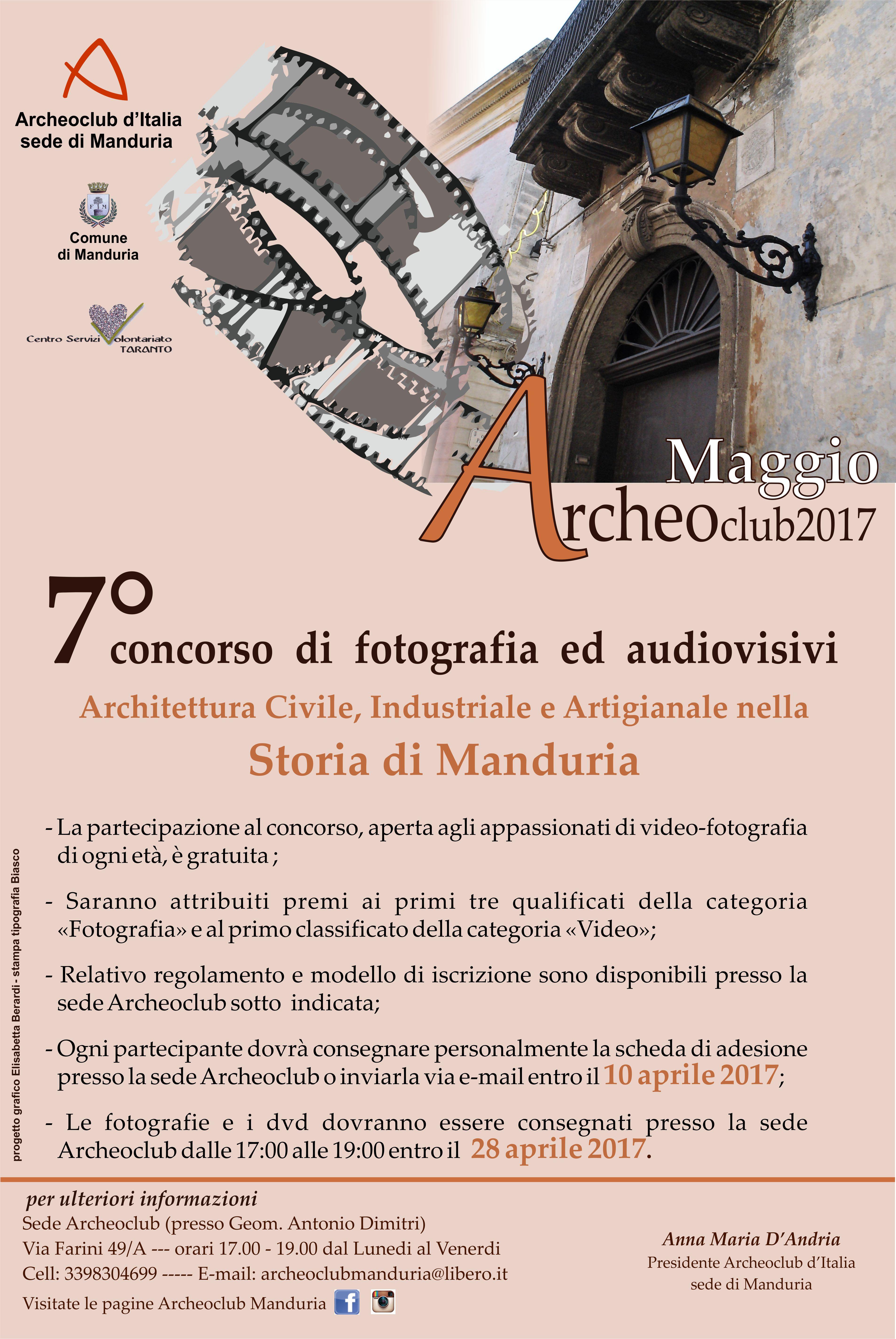 Locandina concorso video-fotografico 2017