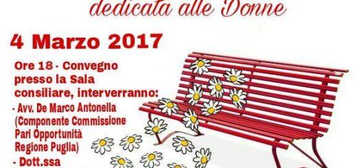 Panchina Rossa Avetrana