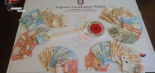 Foto sequestro denaro del 20.06.2017